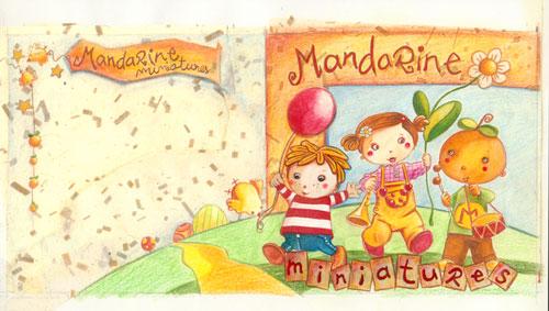 Couverture Miniatures par Mandarine