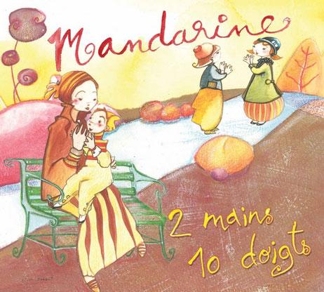 couverture 2 mains dix doigts mandarine